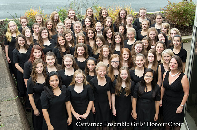 Cantatrice Ensemble Girls Honour Choir