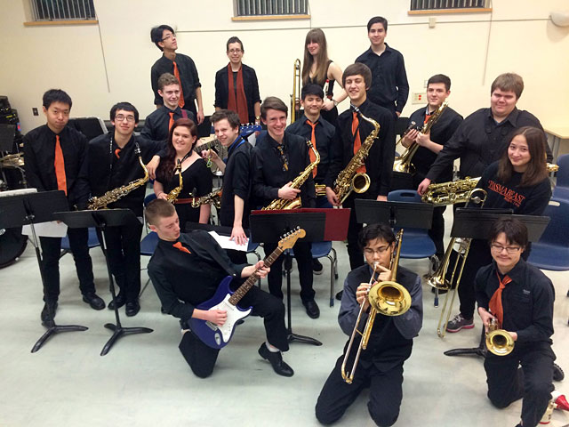 New Westminster Secondary Senior Jazz Band | Wash, Rinse and Repeat