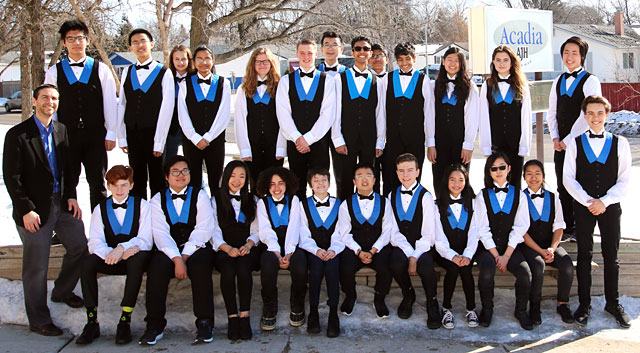 Acadia Junior High Jazz Ensemble