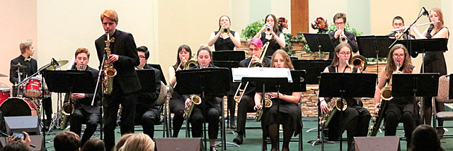 Kelowna Secondary Jazz Band